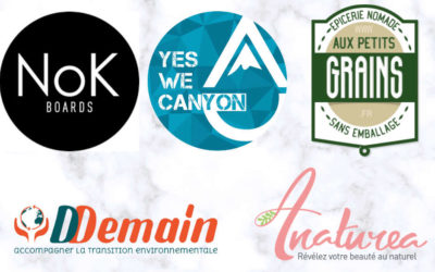 5 entrepreneurs qui s'engagent pour la planète