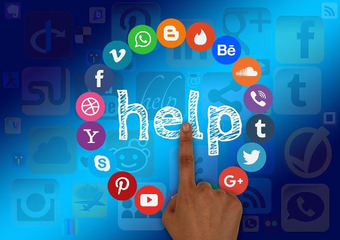 aide réseaux sociaux